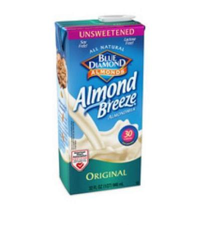 almond breeze unswt