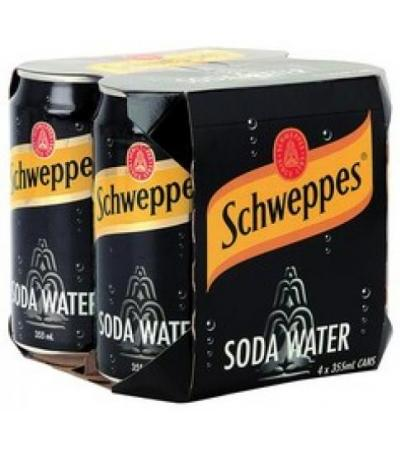 soda water(4 cans)