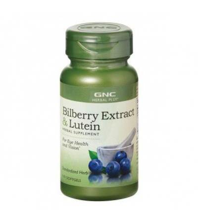 Bilberry Plus Lutein