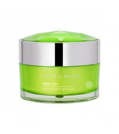 Crystal Moist Pur Ion+ Purifying &relieving Face Mask