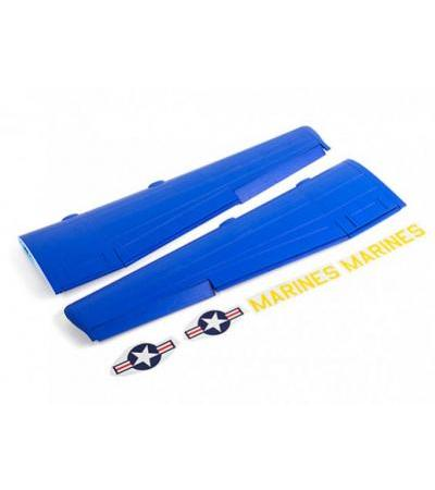Avios C-130 - Main Wing Set (Left and Right) w/Sticker Set (Blue Angels)