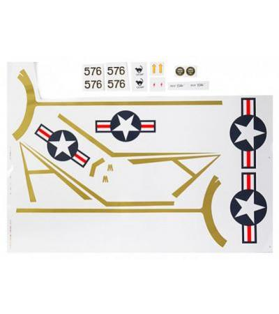 Durafly T-28 Naval 1100mm - Decal Set