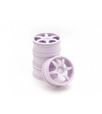 RiDE 1/10 Touring 24mm 6 Spoke Wheel 0mm Offset (4pcs)