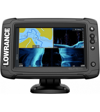 Lowrance 000-14638-001 Elite-7 Ti2 Combo w/ Active Imaging Transducer
